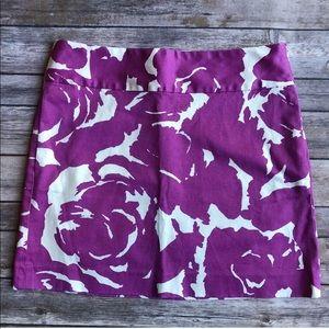 J crew Floral Pencil Skirt 0